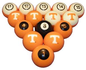 Vols Billiard Balls
