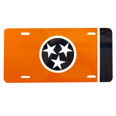 Vols Tennessee State License Plate
