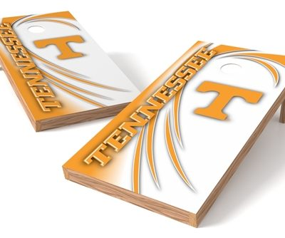 Tennessee Volunteers Cornhole Set - Spiral - Front